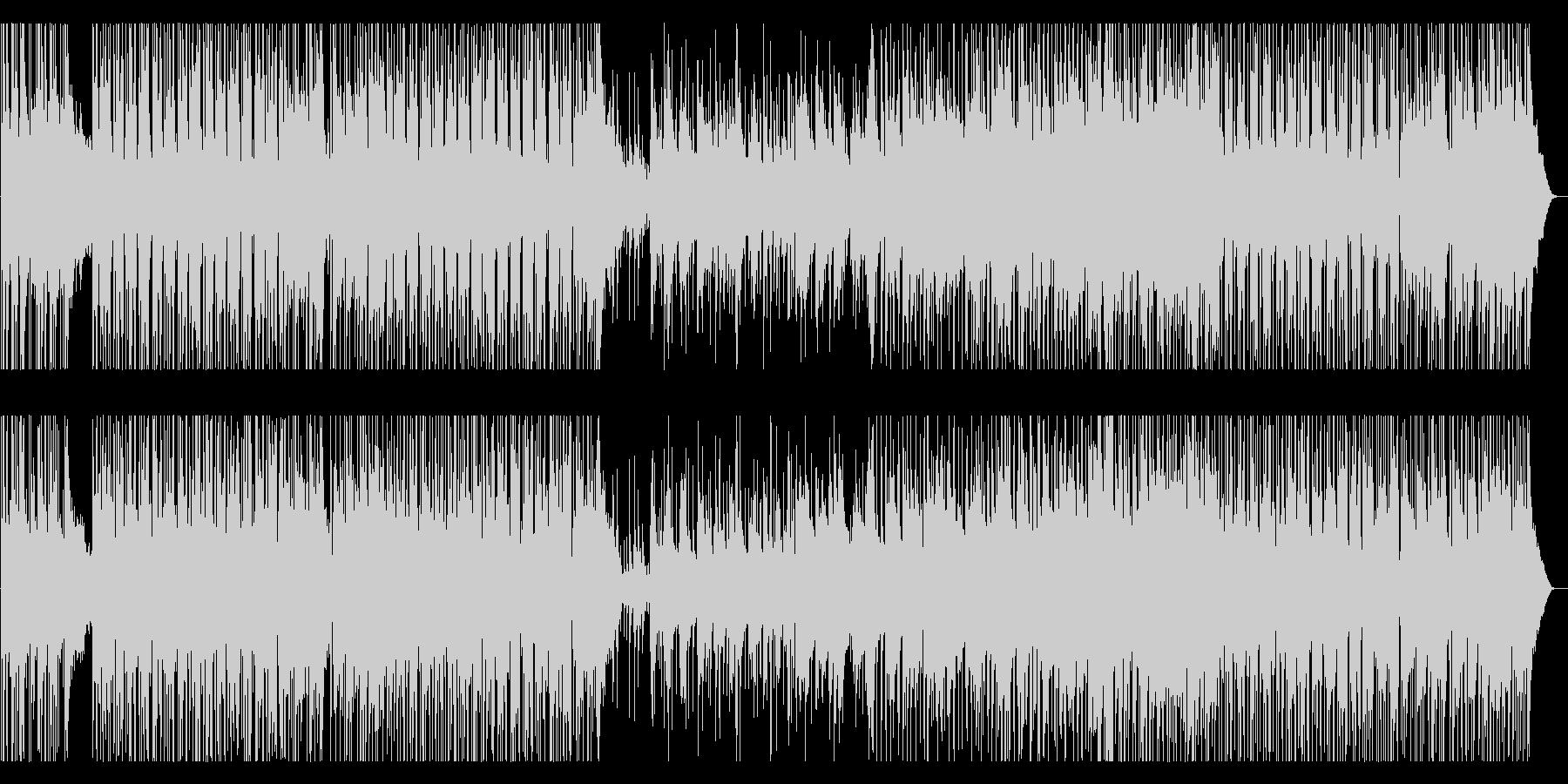 インストゥルメンタルロックギターの...の未再生の波形