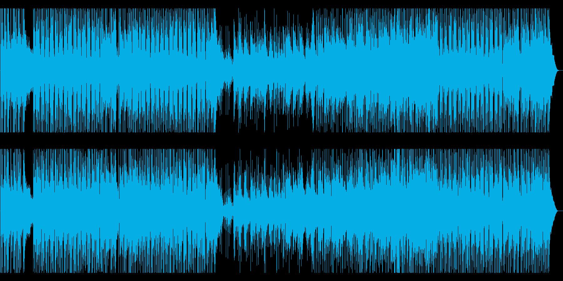 インストゥルメンタルロックギターの...の再生済みの波形