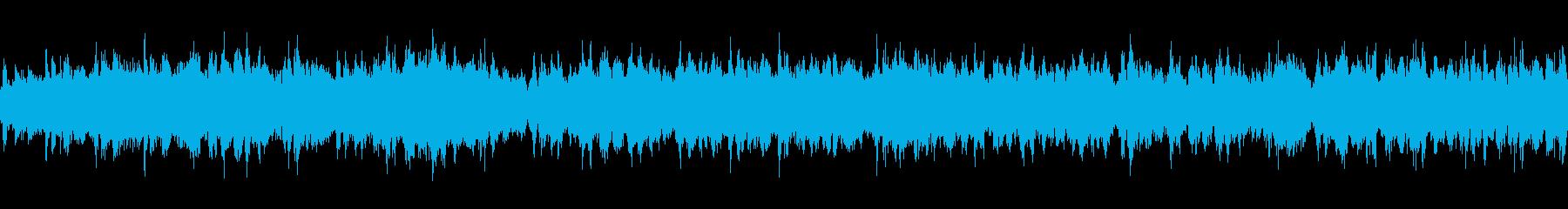 【緊張/不安】ストリングス:ループBGMの再生済みの波形