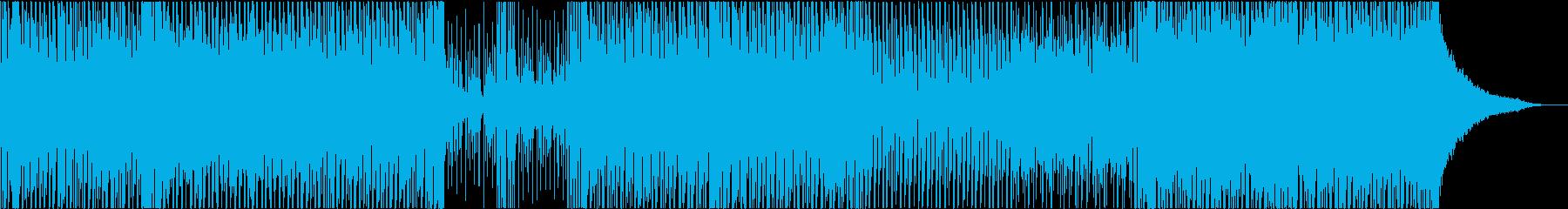 アニメ コミカル 可愛い 面白い テクノの再生済みの波形