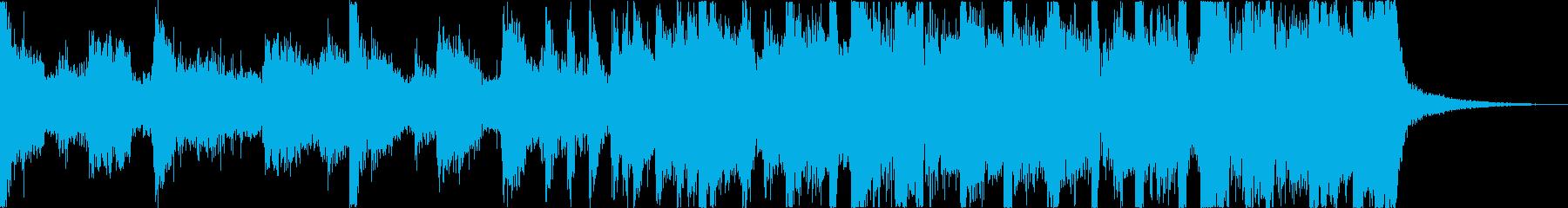 おしゃれレトロディスコシティポップeの再生済みの波形
