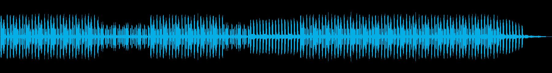 テクノの再生済みの波形