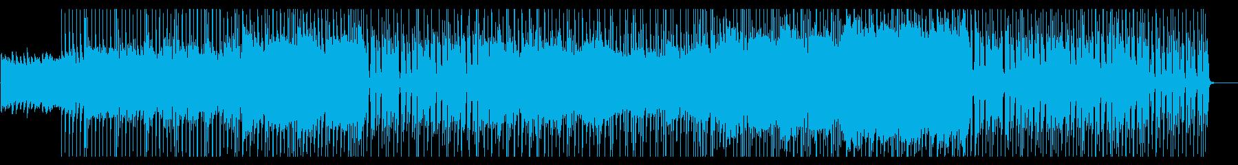 クリーンギターのフレーズが印象的なロックの再生済みの波形