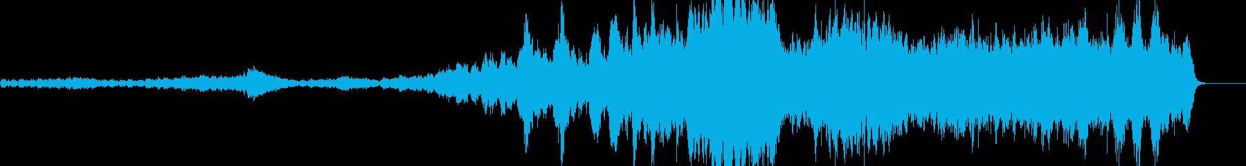 壮大な宇宙を感じるクラシック曲の再生済みの波形