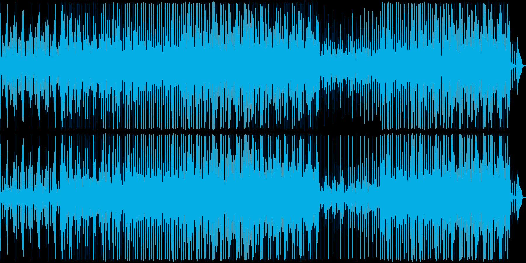 口笛の軽快なアコースティックサウンドの再生済みの波形