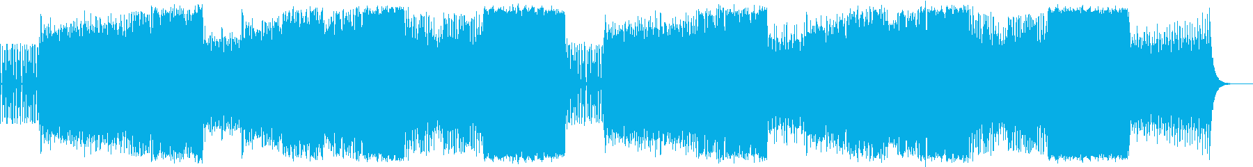 壮大荘厳なフルオーケストラの再生済みの波形