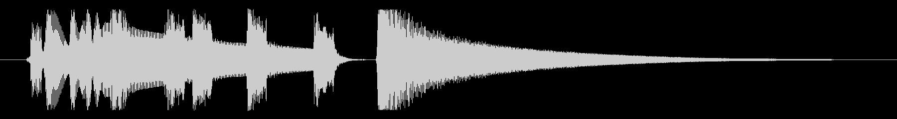 【プライベートタイム1】の未再生の波形