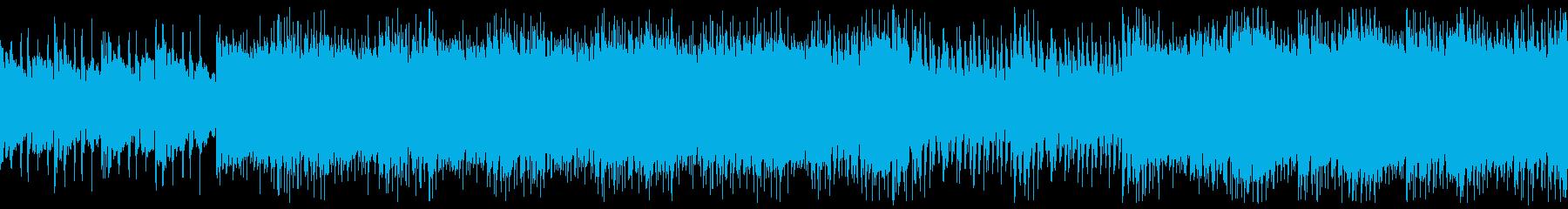 桜庭統風バトルBGMの再生済みの波形