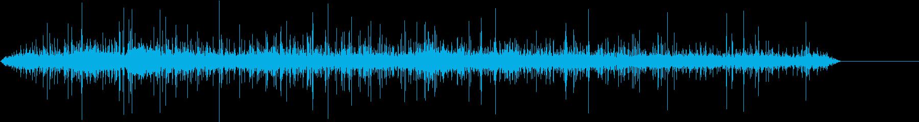 【生録音】ジューっと食材が焼ける音 3の再生済みの波形