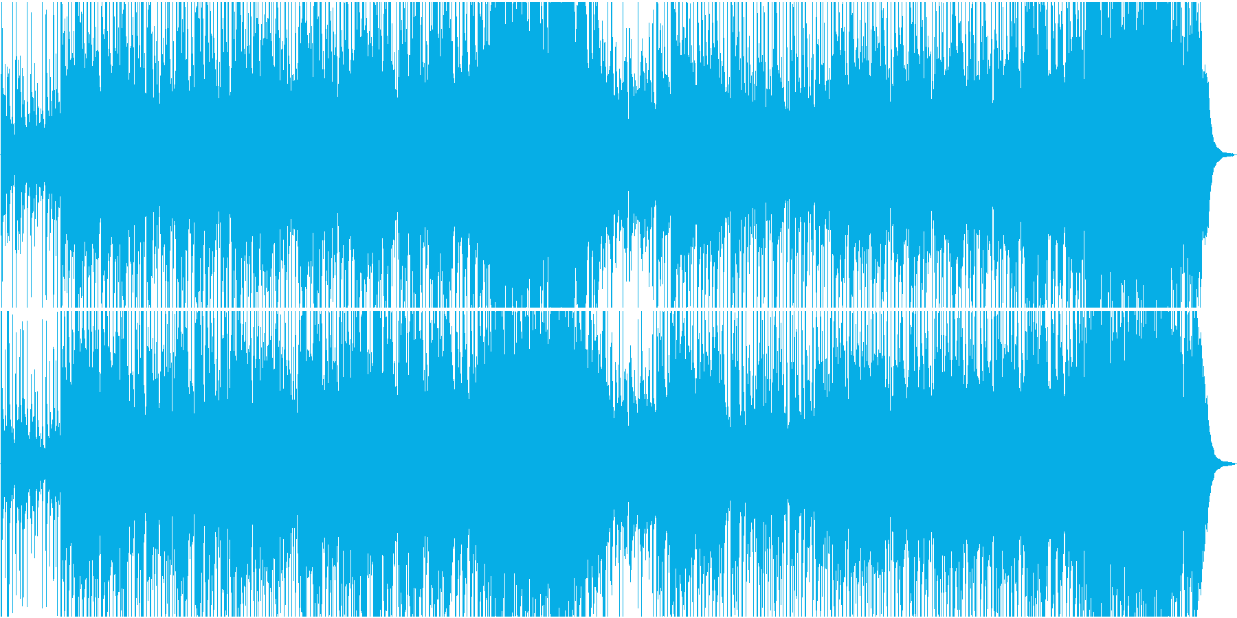 マンドリンのメロディが心地よいカントリーの再生済みの波形