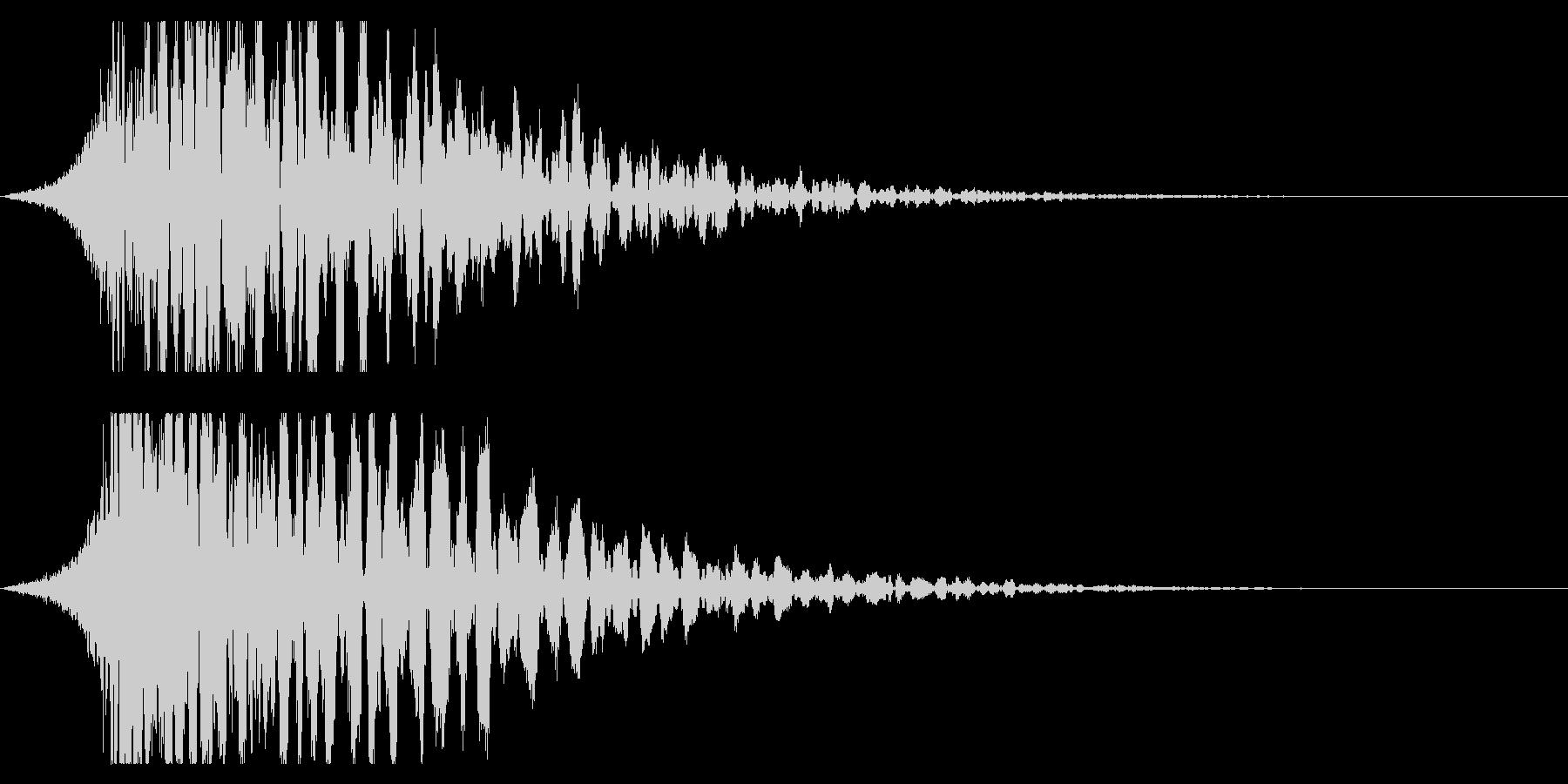 シュードーン-21-3(インパクト音)の未再生の波形