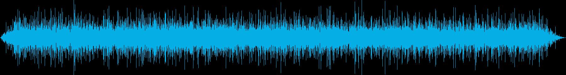 【環境音】せせらぎ01(四季の森)の再生済みの波形