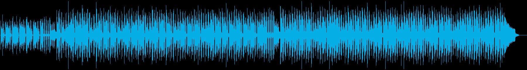ウクレレと口笛による楽しいポップスの再生済みの波形