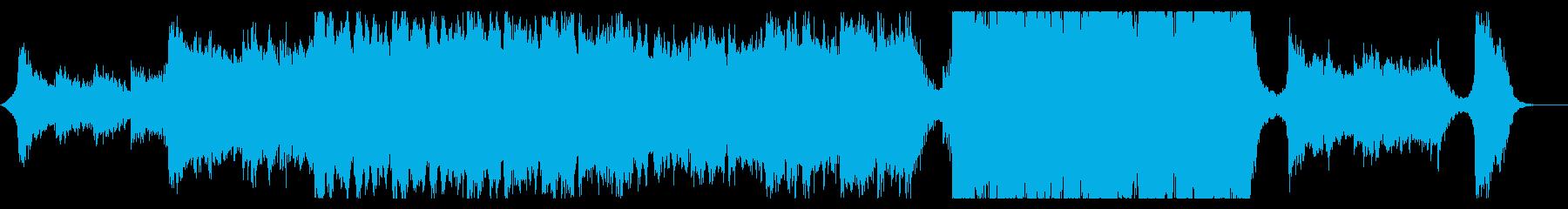 ハリウッド映画風の壮大なオーケストラ8の再生済みの波形