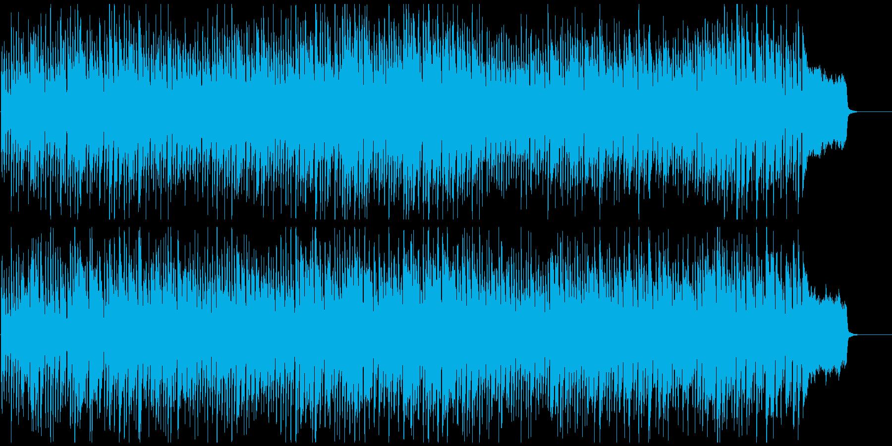 バラエティ系のウキウキ軽快なリコーダー曲の再生済みの波形