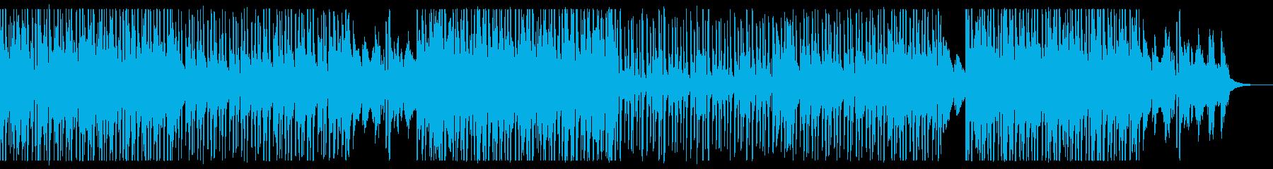 都会的で大人なピアノ•ダンスポップの再生済みの波形