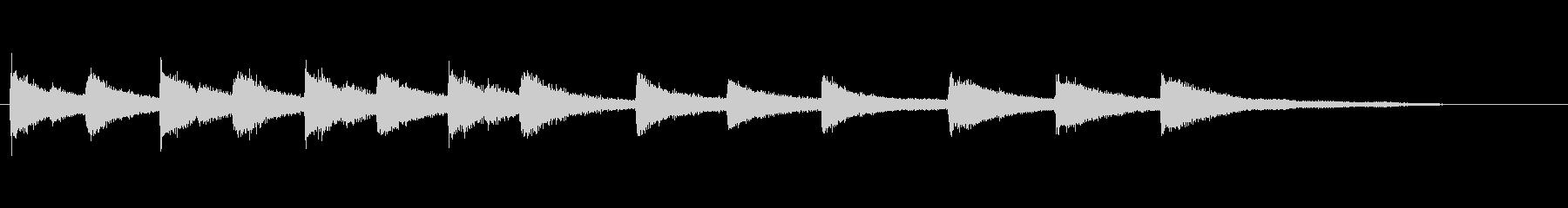 教会の鐘-メロディーをノック-ヒッ...の未再生の波形