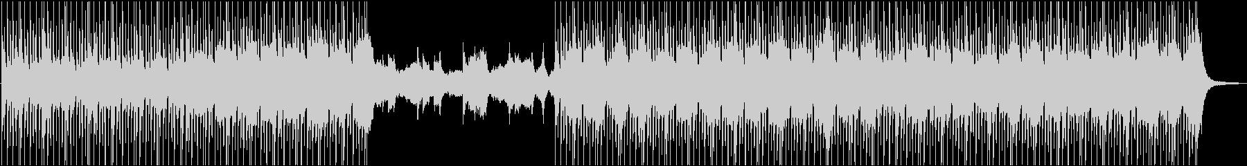 アコギとピアノの優しく温かいBGMの未再生の波形
