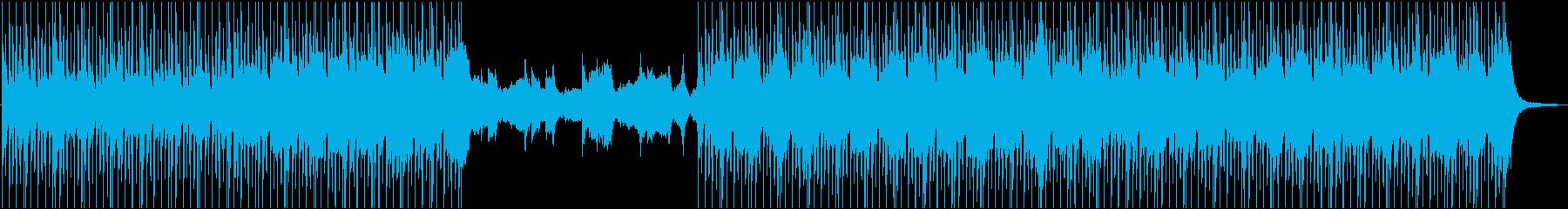 アコギとピアノの優しく温かいBGMの再生済みの波形