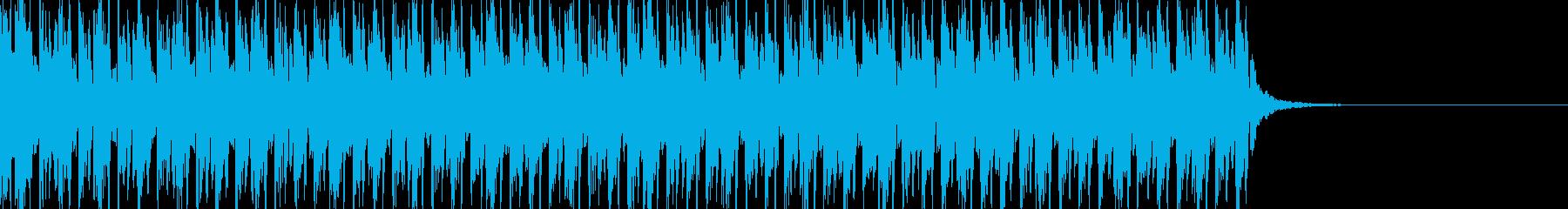 敵に対峙した時をイメージの再生済みの波形