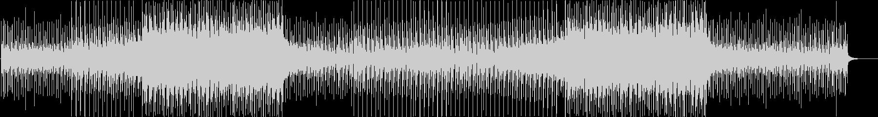洋楽感のある夏らしいトロピカルハウス4aの未再生の波形