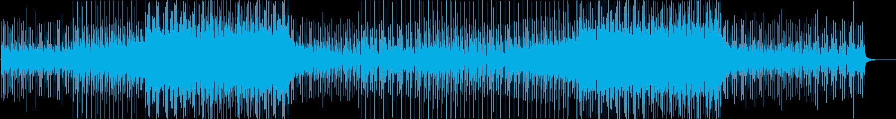 洋楽感のある夏らしいトロピカルハウス4aの再生済みの波形