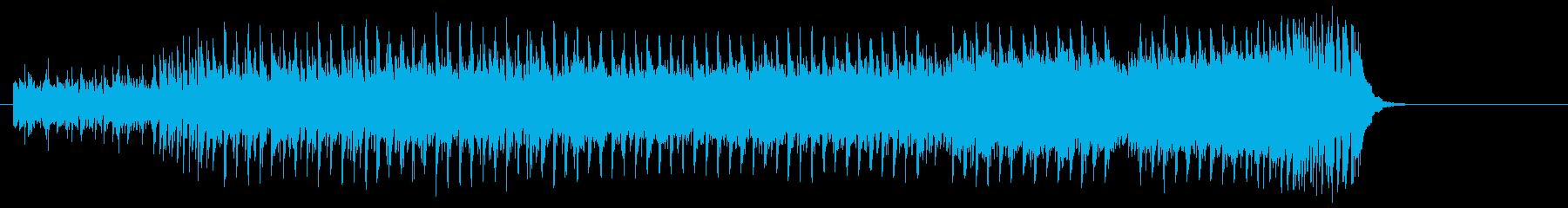 打撃系サウンドマイナーエレクトロポップスの再生済みの波形