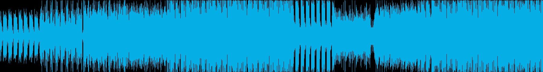 【ループ】オシャレ、エレクトロ、動画等にの再生済みの波形