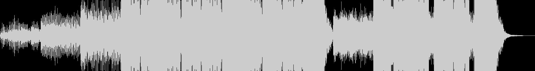 フェスで流れそうなクールなEDMの未再生の波形