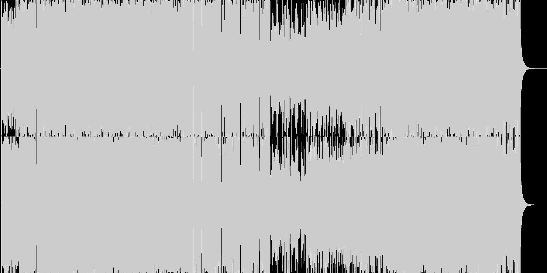 スラップベースをフューチャーしたEDMの未再生の波形
