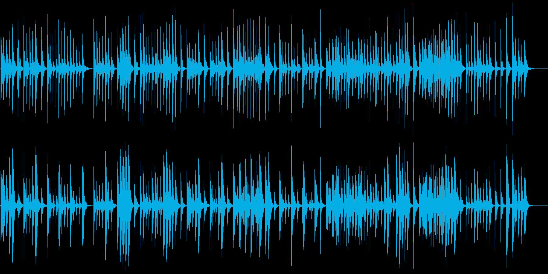 素朴な木琴の温かほのぼの映像系かわいいの再生済みの波形