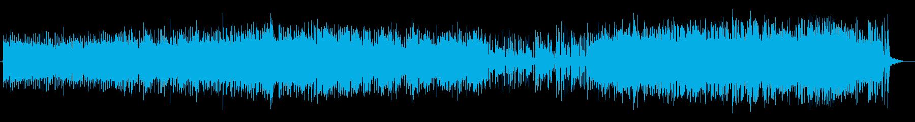軽くて聴きやすいノリの良いジャズの再生済みの波形