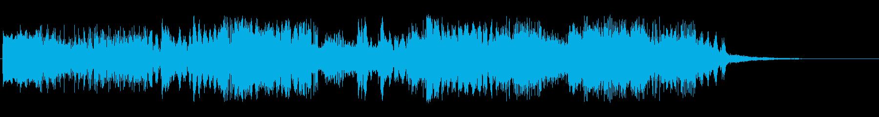 外側の地形の再生済みの波形
