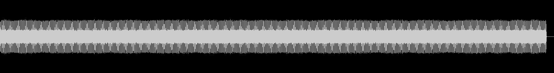 防犯ブザーの音の未再生の波形