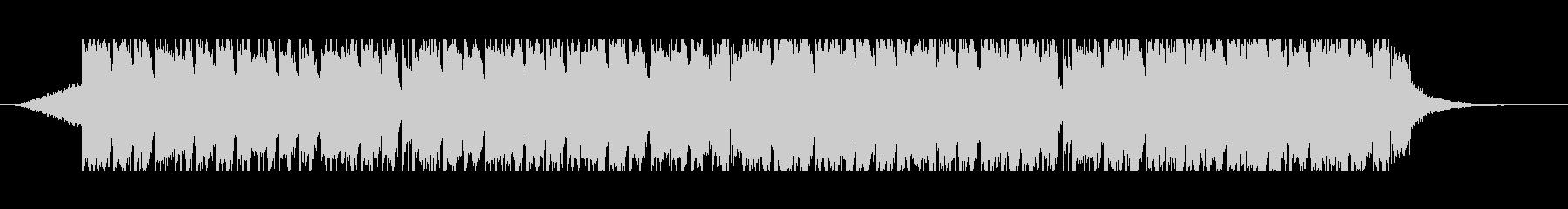 オリエンタル(50秒)の未再生の波形