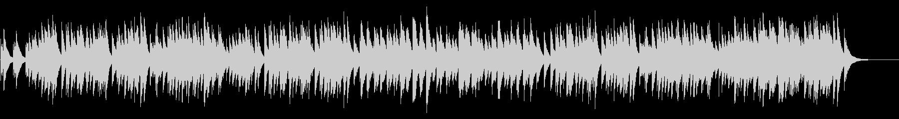 結婚行進曲 72弁オルゴール の未再生の波形