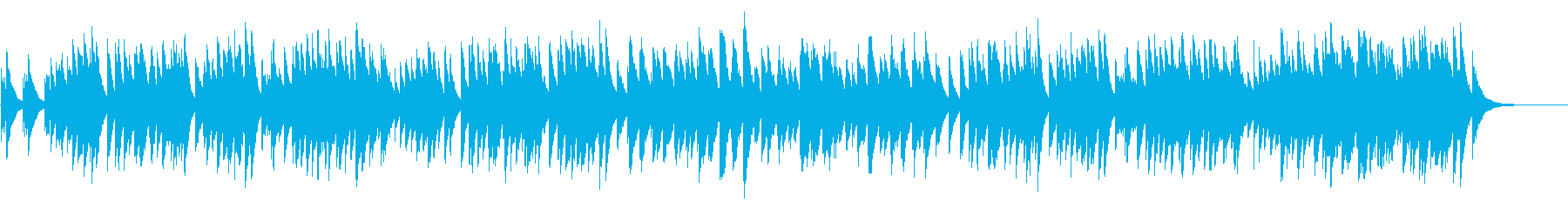 結婚行進曲 72弁オルゴール の再生済みの波形