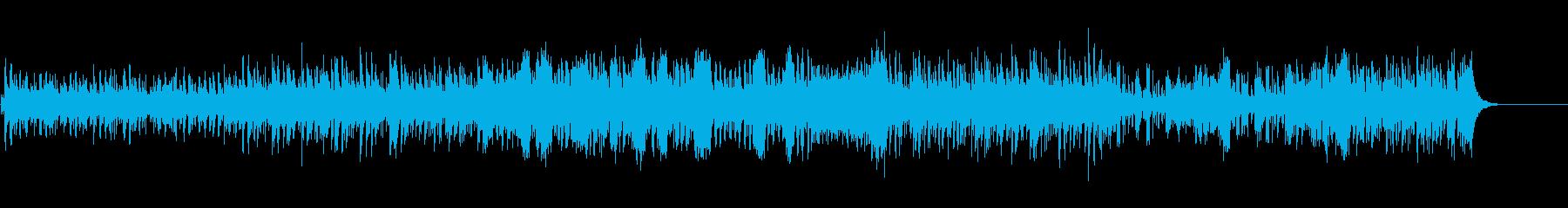 【曲頭の打楽器なし】南国のゆるいBGMの再生済みの波形