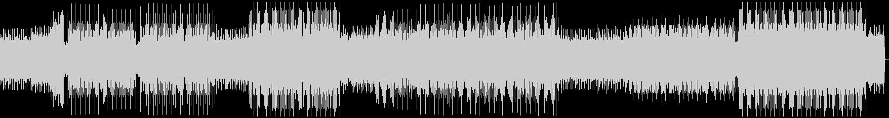 ループミュージック!リズミカルなハウスの未再生の波形