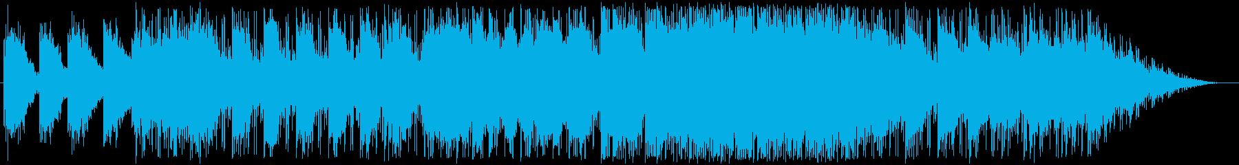 柔らかく切なく広がりのあるバイオリン曲の再生済みの波形