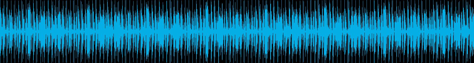 レース/シューティングゲーム 選択画面の再生済みの波形