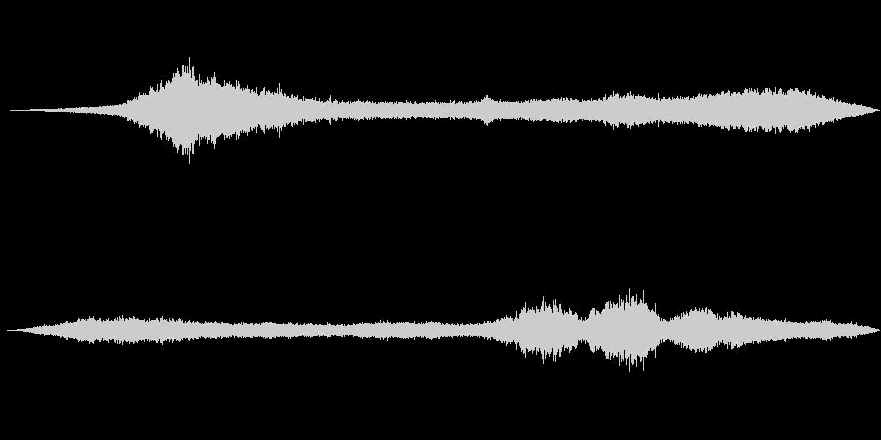 風の効果音(自然、そよ風、ビル風等)05の未再生の波形