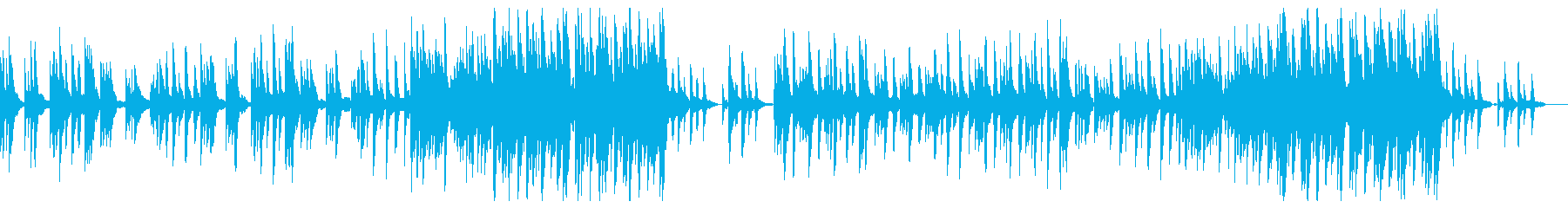 エレピのソロによる心が落ち着くレクイエムの再生済みの波形