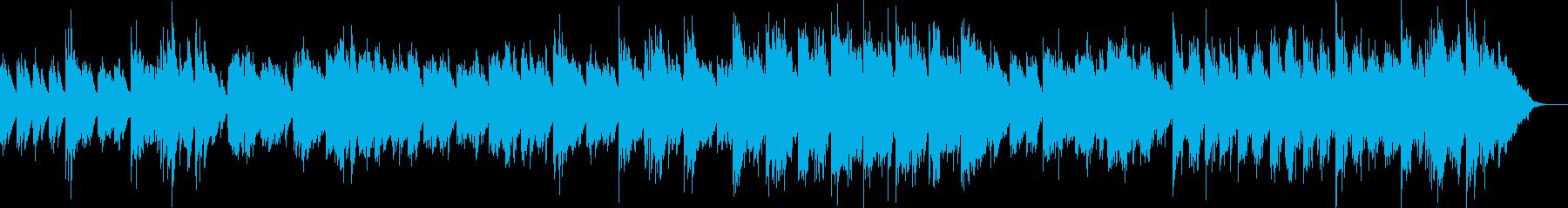 繊細で温かみのある柔らかなサウンドの再生済みの波形