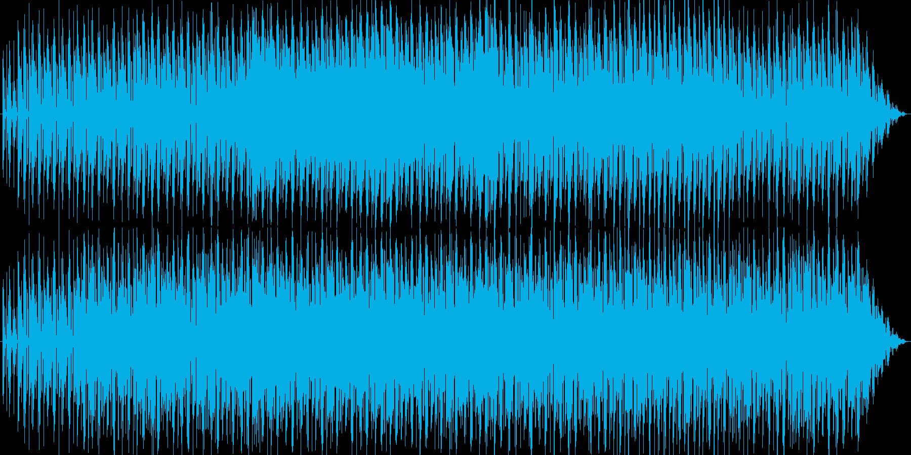 サスペンスや謎解きゲームのBGMに。の再生済みの波形