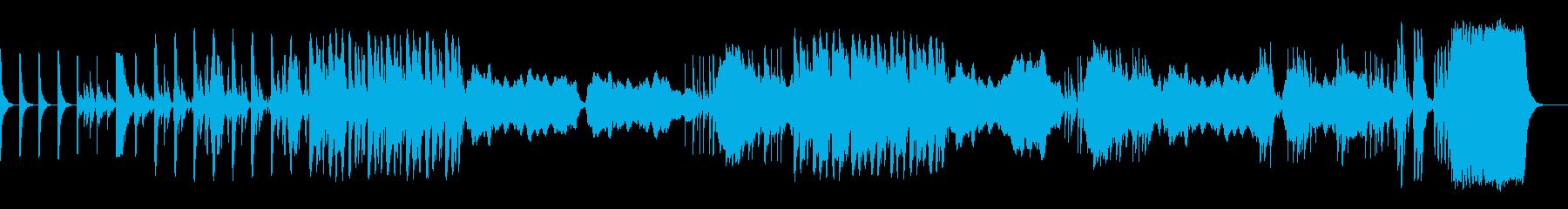 サスペンスやホラーに使える曲_妖しき空間の再生済みの波形