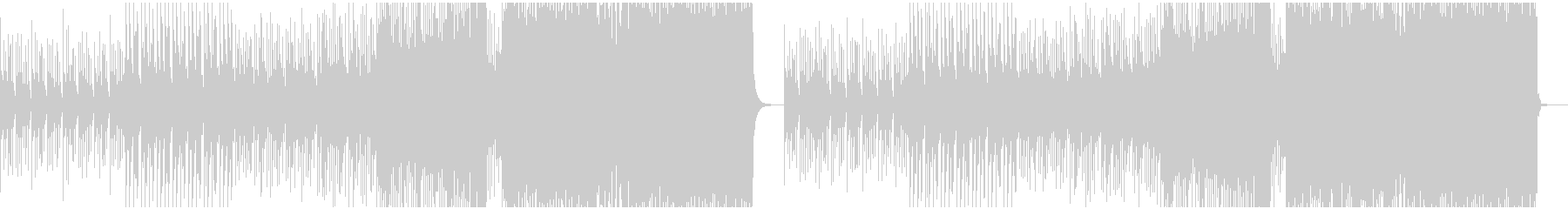 疾走感ある切ないEDMの未再生の波形