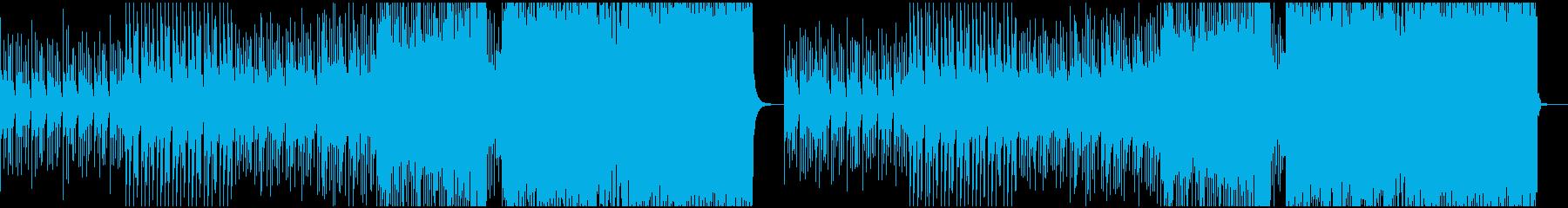 疾走感ある切ないEDMの再生済みの波形