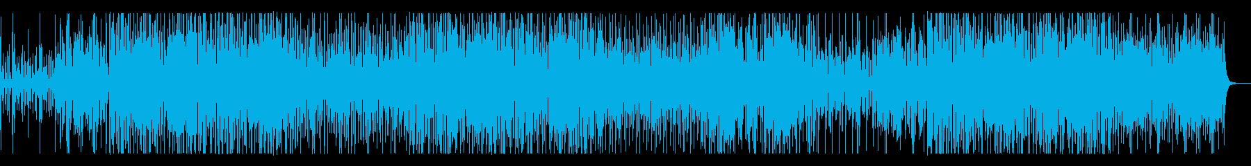 ブラスが印象的なハードボイルド・ファンクの再生済みの波形