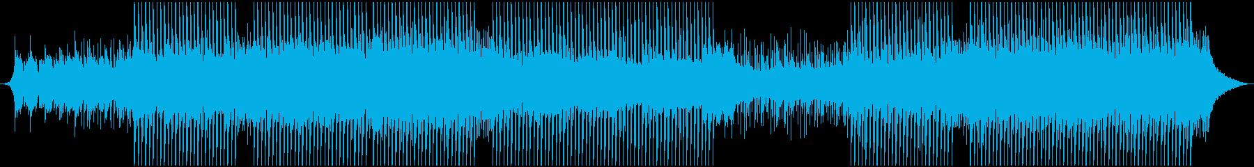 陽気で高揚の再生済みの波形